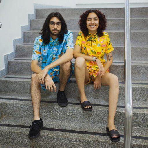 Conjunto Tropical Moda Praia Camisa e Short Personalizado 04