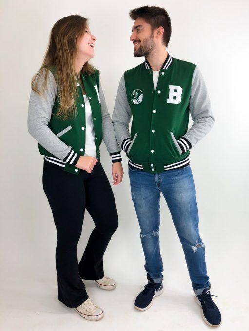 jaqueta americana do curso de biologia