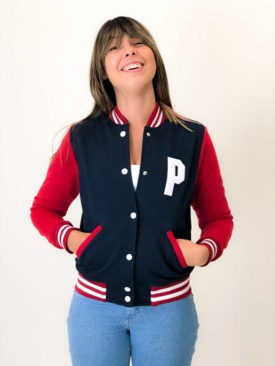 jaqueta college personalizada de pedagogia