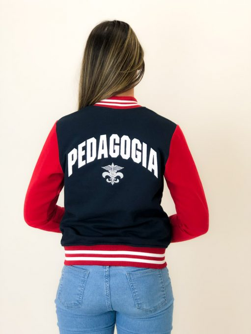 jaqueta americana do curso de pedagogia