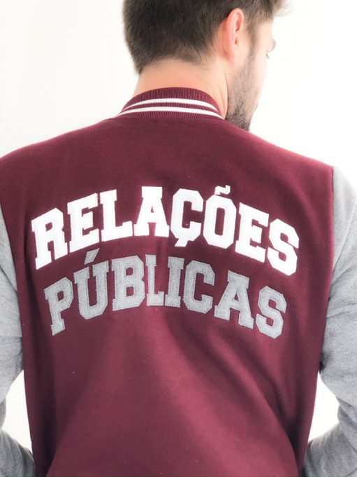 jaqueta personalizada de relações públicas