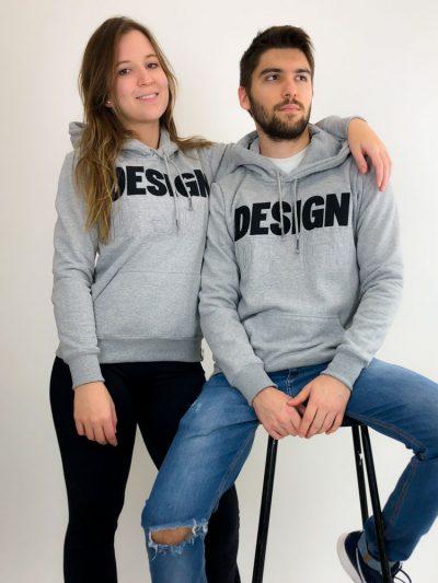 Moletom de Design Cinza Mescla (5)