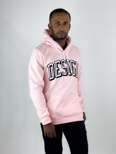 moletom personalizado de design rosa