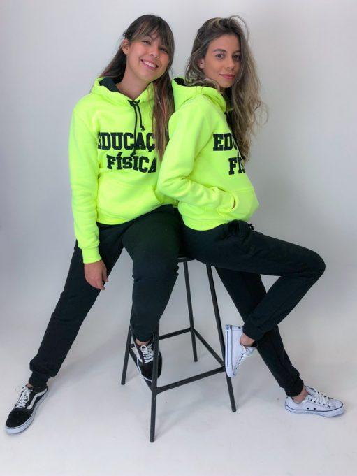 blusa de frio amarelo neon