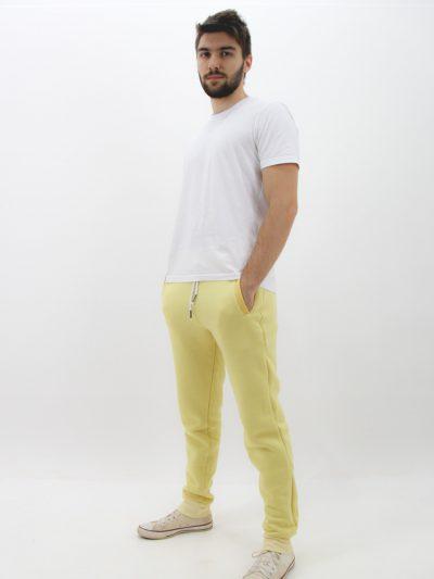 Calça amarela de moletom