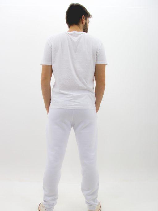 Calça de Moletom Básico Branco (4)