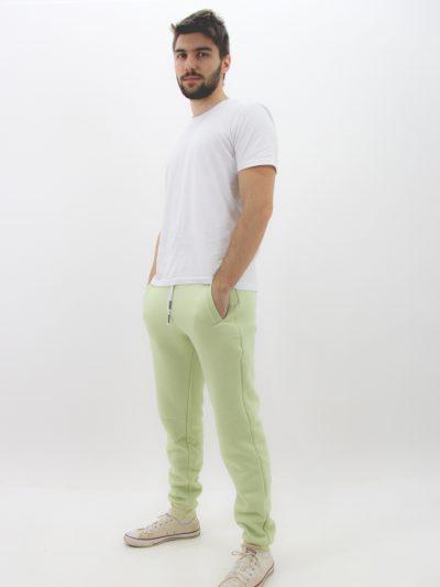 Calça de Moletom Básico Verde Menta (1)