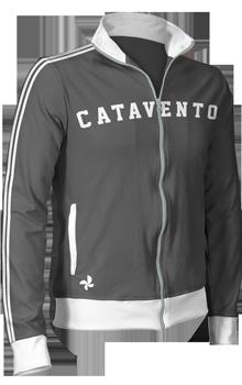 Jaqueta Esportiva Retrô Personalizada Faixas Verticais