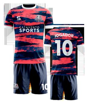 camiseta de time personalizada