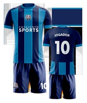 conjunto de futebol personalizado