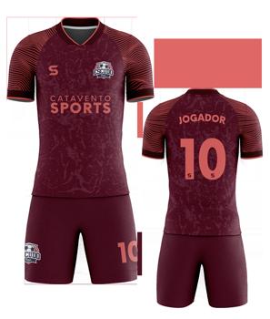camisa para time de futebol personalizada
