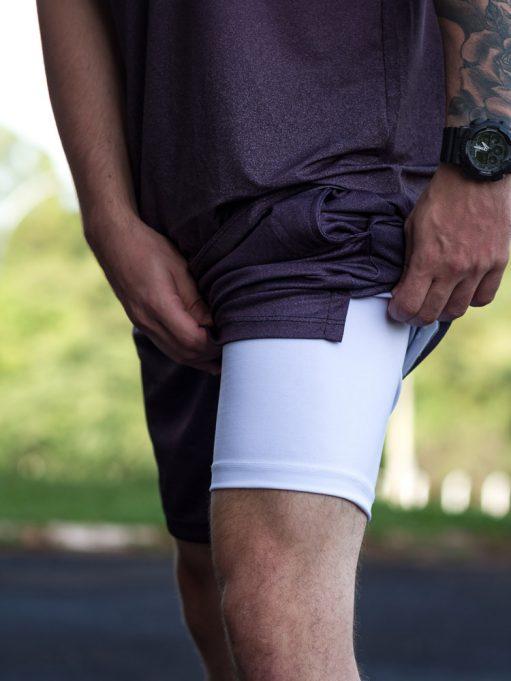 short com legging masculino personalizado