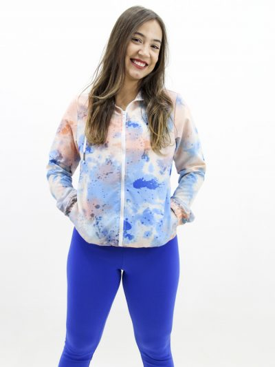 Jaqueta Corta Vento Tie Dye