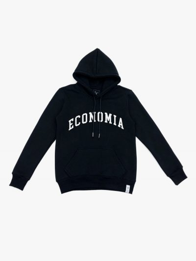 blusão de Frio preto de Economia