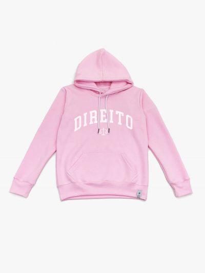 Blusão de Frio rosa claro de Direito
