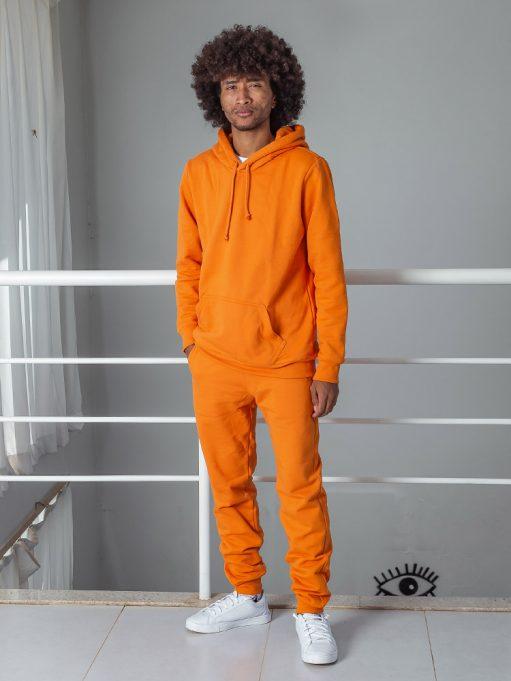 Blusa de frio báscia laranja