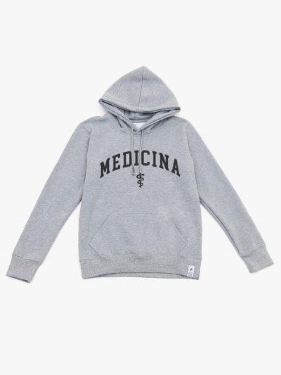 Blusão de frio cinza mescla de Medicina