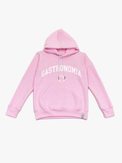 Blusão de frio rosa claro de Gastronomia