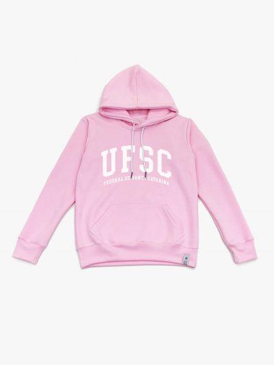 Blusa de frio rosa claro Universidade Federal de Santa Catarina